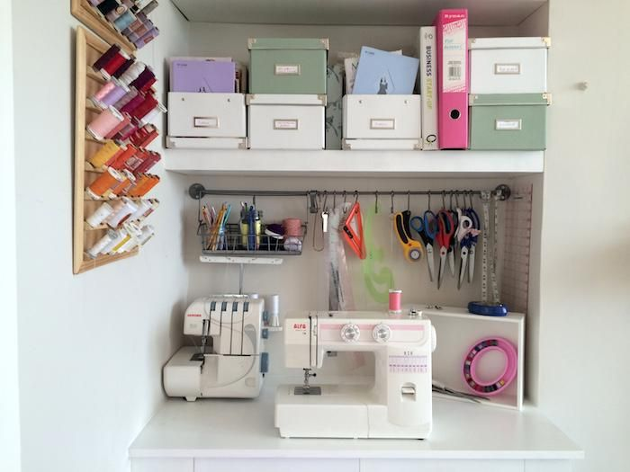 69 best ideas rincón de costura images on Pinterest Craft rooms - laminat f amp uuml r die k amp uuml che