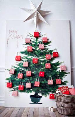 Natal criativo - de árvore à calendário ~ ARQUITETANDO IDEIAS