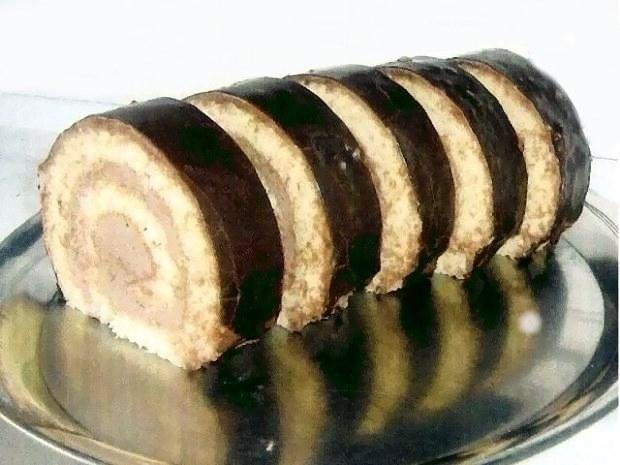 Čokoládová roláda - recept