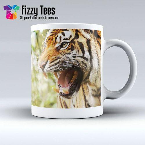 Twin Tigers Mug Mugs, Mug designs, Wildlife