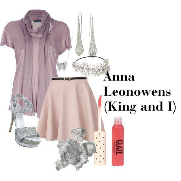 """Anna Leonowens (The King and I) Formal"" by hazel-jordan on Polyvore"