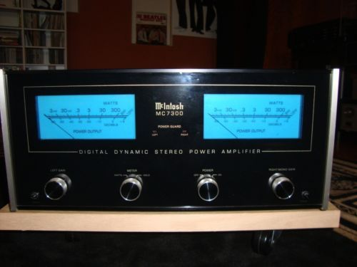 mcintosh mc7300 digital dynamic stereo power amp amplifiers pinterest. Black Bedroom Furniture Sets. Home Design Ideas
