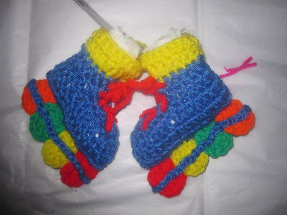Roller babyzimmer ~ 86 best crochet ice skates roller skates socks for baby images