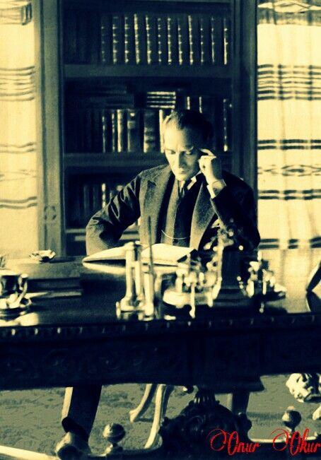 Çankaya Köşkü Kütüphanesi...(1926)