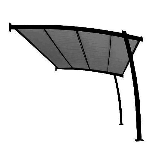 25 best ideas about tonnelle adoss e on pinterest pergola bois auvent de - Tonnelle adossee bois ...