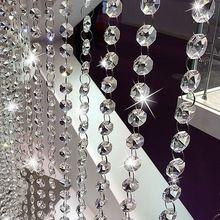 kristalheldere acryl kraal guirlande kroonluchter opknoping voor feest bruiloft decoratie benodigdheden(China (Mainland))