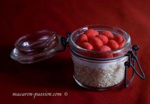 """""""Petit pot de recette toute prête"""" : riz au lait, fraises Tagada"""