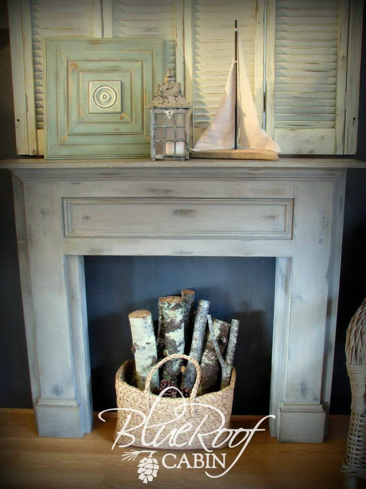 Fireplace Design diy cardboard fireplace : Best 25+ Fake fireplace logs ideas on Pinterest | Faux mantle ...