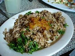 Lebanese Mjadra