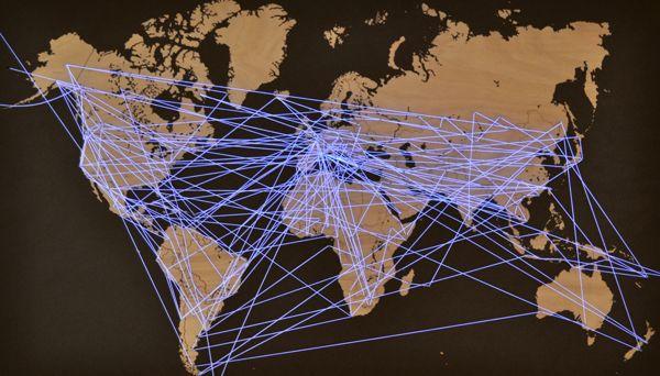 Interactive Network / Installation on Behance