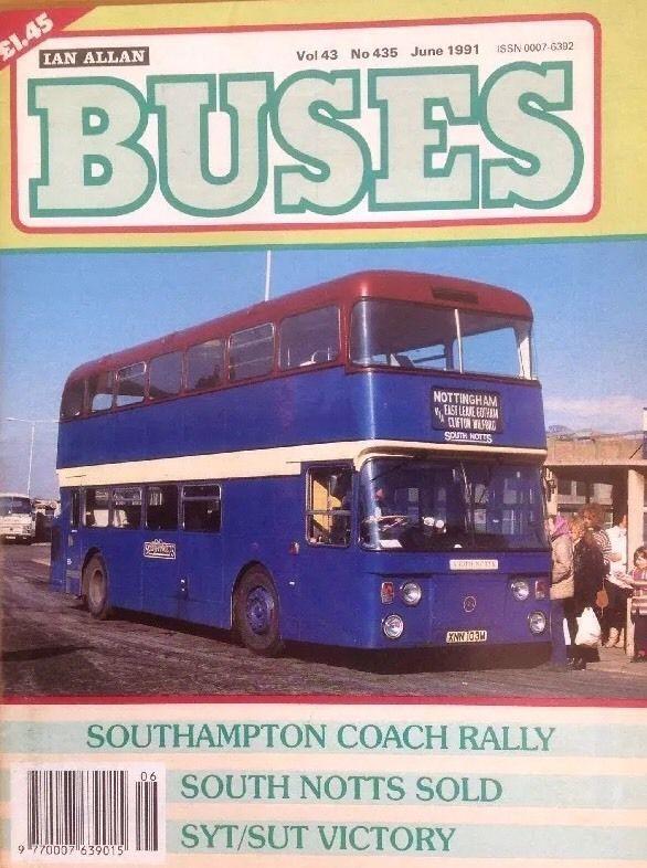 Buses Magazine Jun 1991 - South Notts sale, South Yorkshire Transport, Rallies | eBay