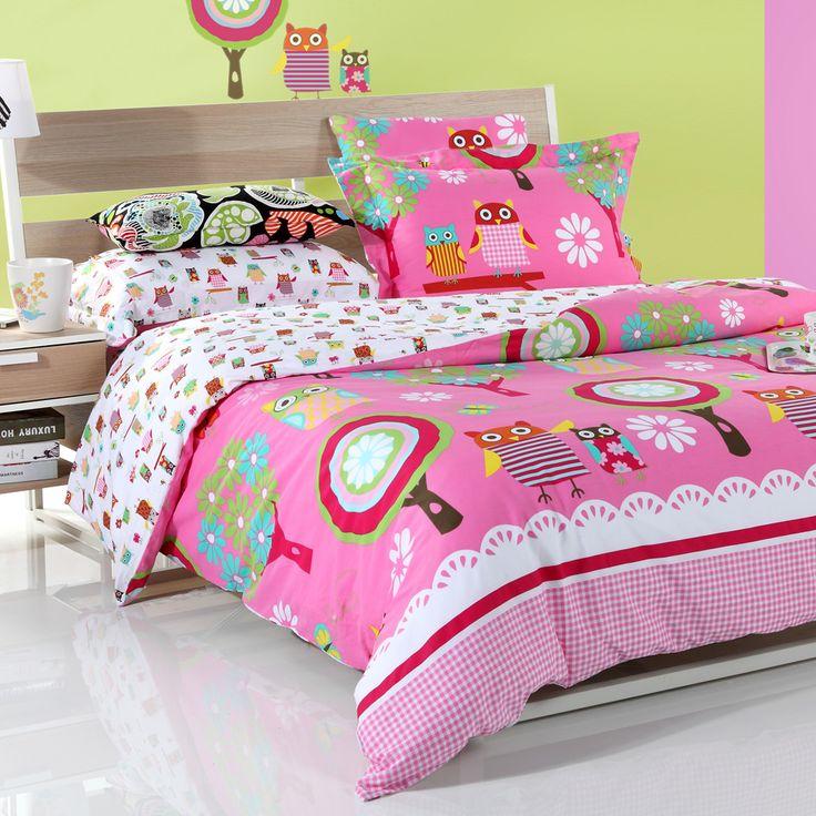 Более популярный мультфильм семья из четырех частей постельных принадлежностей хлопчатобумажных постельных принадлежностей Амели