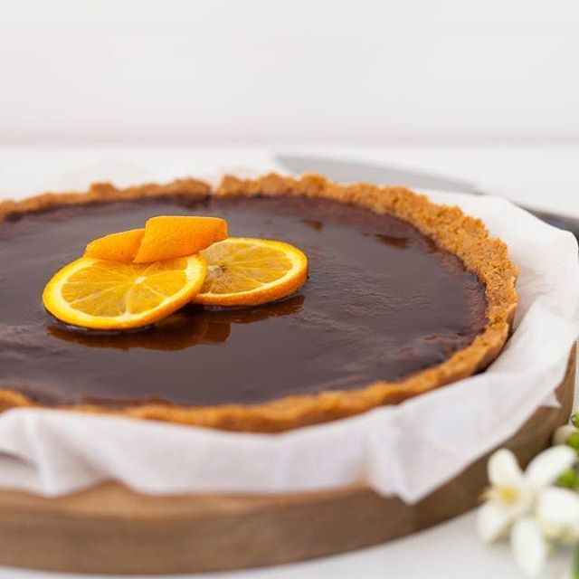 Chocolate and Orange Tart filled with so much goodness and no nasties from Melissa Ambrosini. – I Quit Sugar