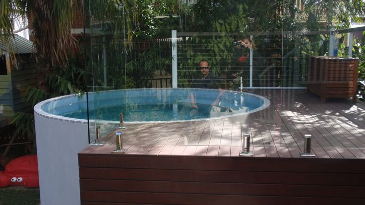 17 best images about petite pools on pinterest small for Best above ground pools australia