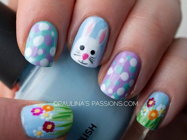 Drop The Peeps & Check Out These Easter Nail Designs - 25+ Unique Easter Nail Designs Ideas On Pinterest Easter Nails