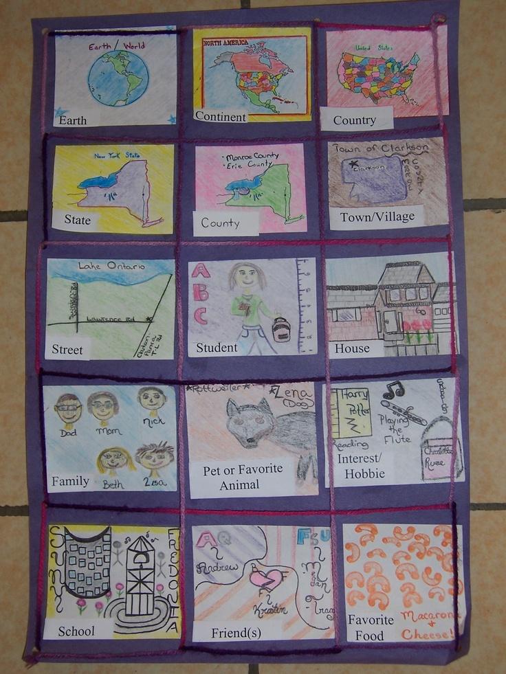 Classroom Word Wall Ideas ~ Community quilt project rd grade teacher