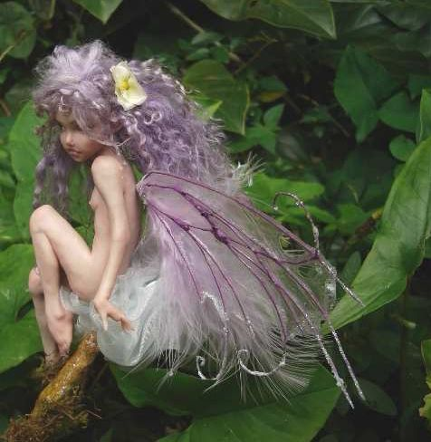 Polymer Clay Fairies | Fairy Wings Tutorial | Dolls , Porcelain BJD Ball Jointed…