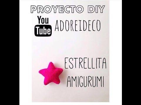 Tutorial crochet estrella amigurumi - YouTube