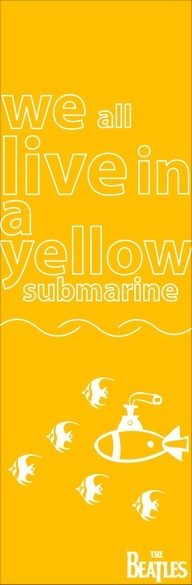 So we sailed on to the sun  Till we found a sea of green  And we lived beneath the waves  In our yellow submarine