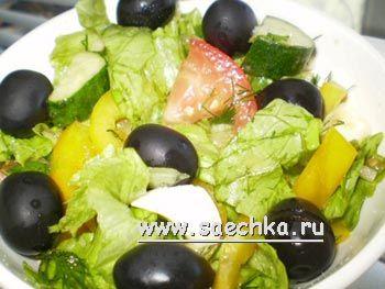 Испанский салат эскаливада