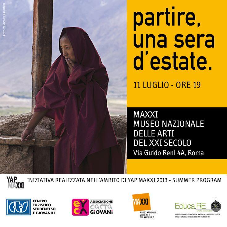 """Turismo Responsabile - Progetto Educa.RE Vieni alla presentazione del libro """"Partire""""! www.educaresponsabile.it/partire"""