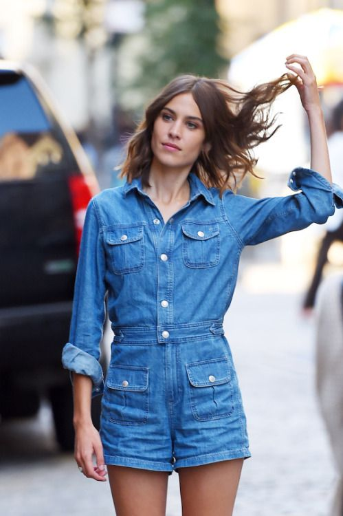 Alexa Chung's Style | @andwhatelse