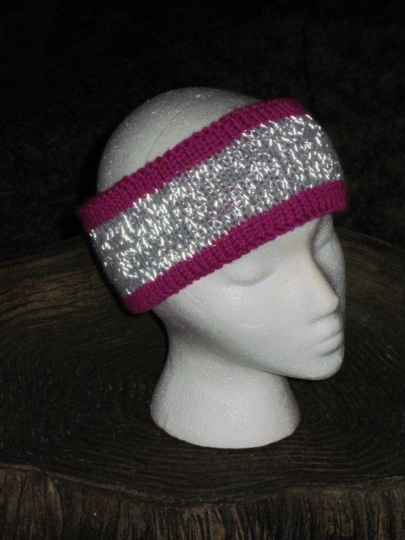 Reversible Headband Knitting Pattern : 1000+ images about Reflective yarn patterns on Pinterest ...