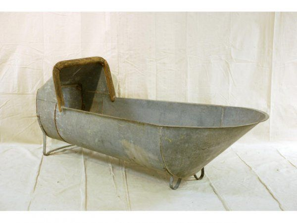 Metal Trough Bathtub :  498A: Galvanized Cowboy Bathtub Cowboy Bathtub, Bath Tubs, Trough ...