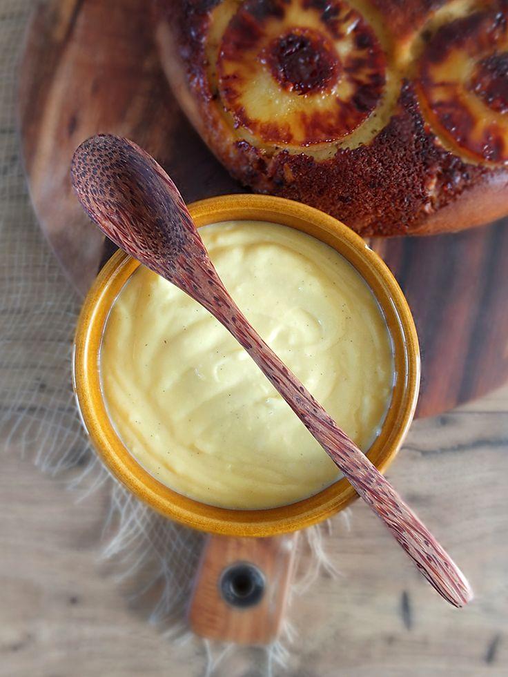 Homemade Vanilla Custard - a Redmond Multicooker Recipe