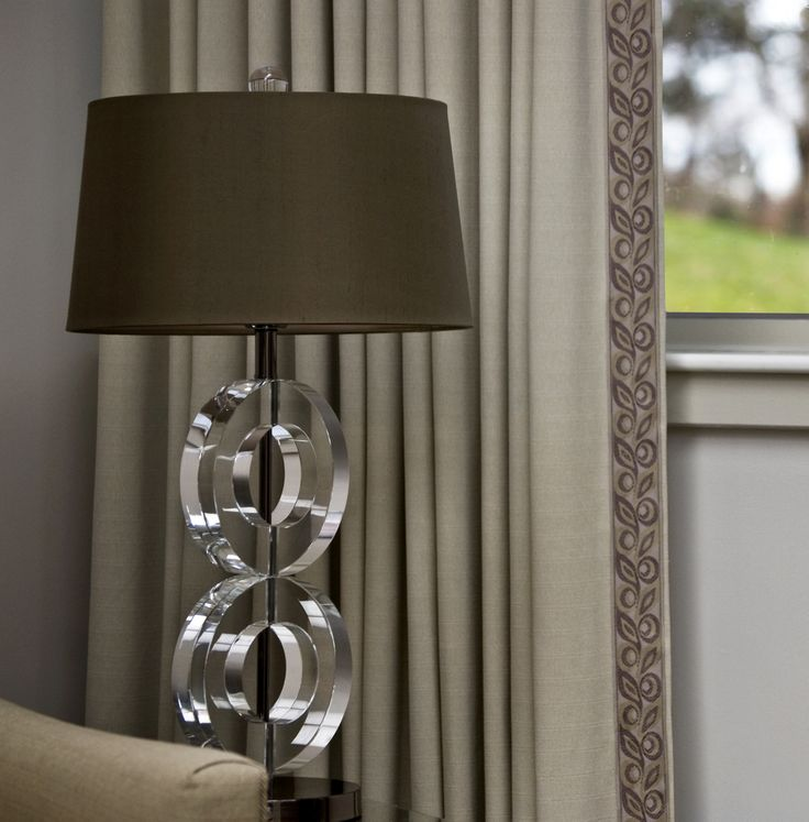 Finish Draperies With A Simple Flat Tape Serenity Collection By Brimar Brimar Trim