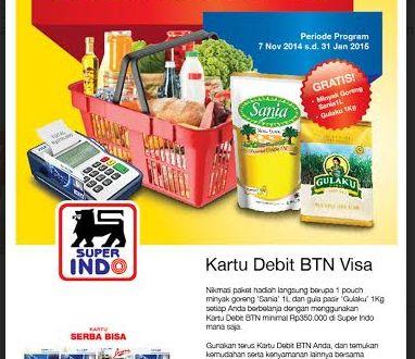 Gratis Minyak Goreng dan Gula di Superindo 7 November 2014 – 31 Januari 2015 | Tempatnya Promosi dan Diskon