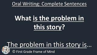 First Grade Frame of Mind