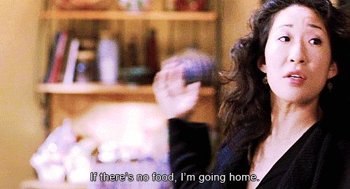 She has her priorities straight. | 27 Reasons Why Cristina Yang Is Everything You Aspire To In Life.  Love her!