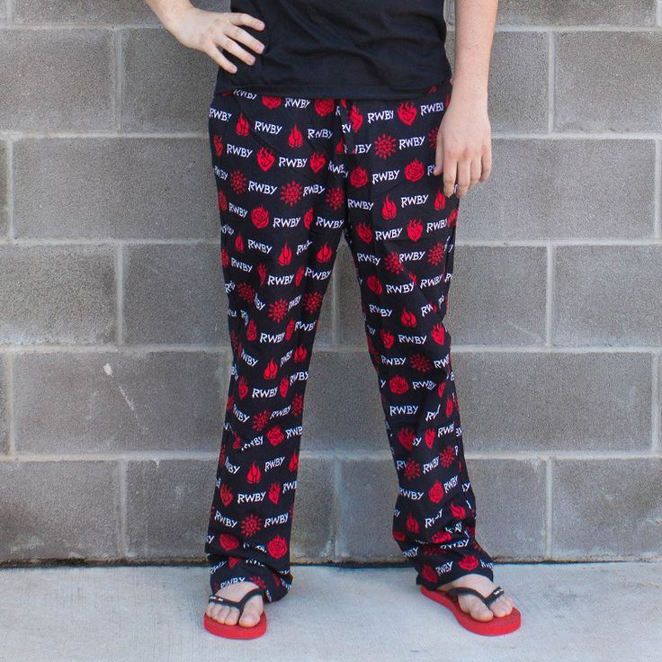 RWBY Logo/Emblems Pajama Pants