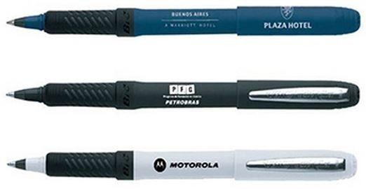 Lapices para empresas personalizados www.todolapices.cl BIC Roller ahora ofrece más comodidad y control y se llama Roller Grip BIC. Esta pluma combina escritura suave y fluido de un rodillo con la larga durabilidad de un bolígrafo