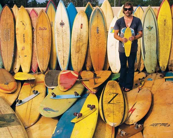 Quivers: Donavon Frankenreiter - Yes, these are his boards and yes he surfs them.