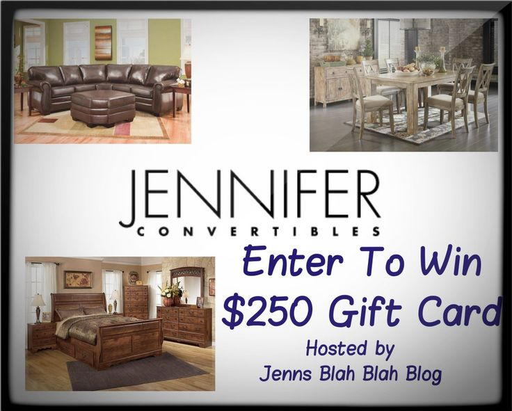 Enter To #Win a $250 Gift Card To Jennifer Convertibles #GiftGuide @Jenn L Convertibles #Giveaway