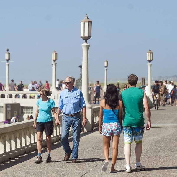 I love walking the prom in Seaside, OR!