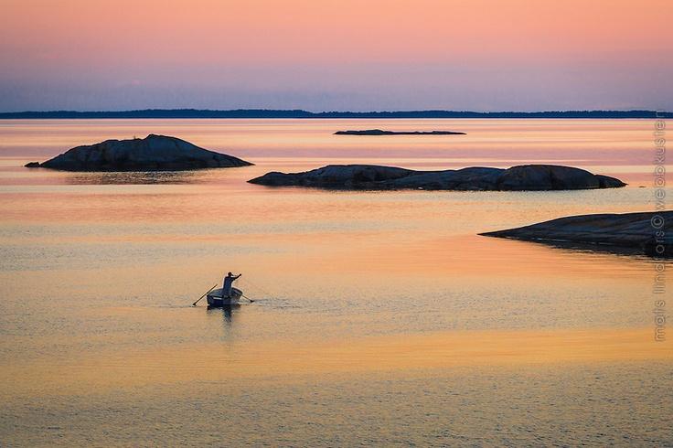 Archipelago Summer night | Mats Lindfors | Webbkusten Photography