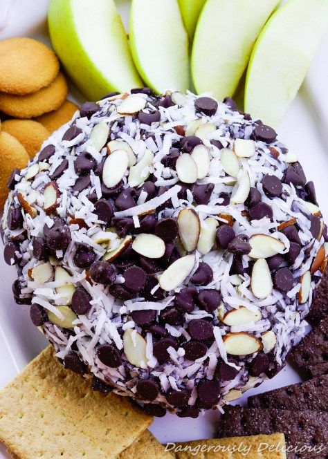 Almond Joy Cheese Ball