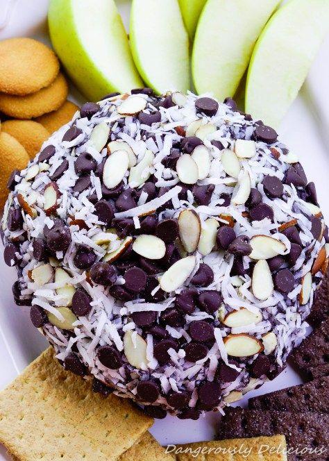 Almond Joy Cheese Ball
