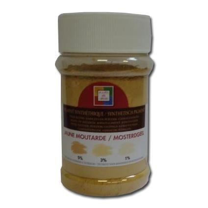 Pigment mosterdgeel 'Malles aux couleurs' 250 ml