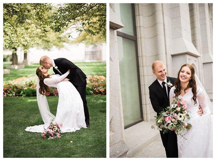 Mejores 71 imágenes de Salt Lake Temple Weddings en Pinterest ...