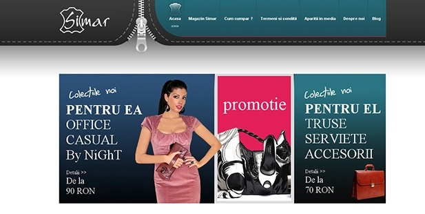 The site was redone completely, both as design and as structure and application. The Simar virtual store has management system and updating as well as addition of new products (images, text, etc) is done directly by the client.