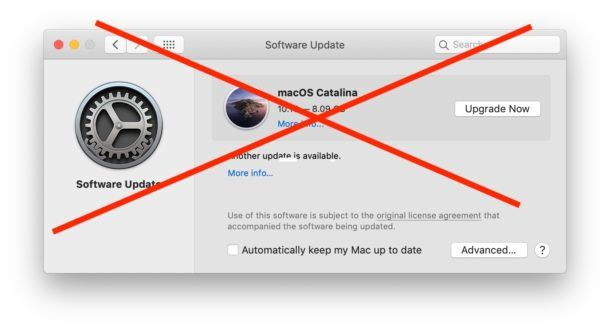 Macbook Air Software Update Not Working