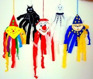 Bunte Gespenster fürs Fenster - Halloween-basteln - Meine Enkel und ich - Made with schwedesign.de