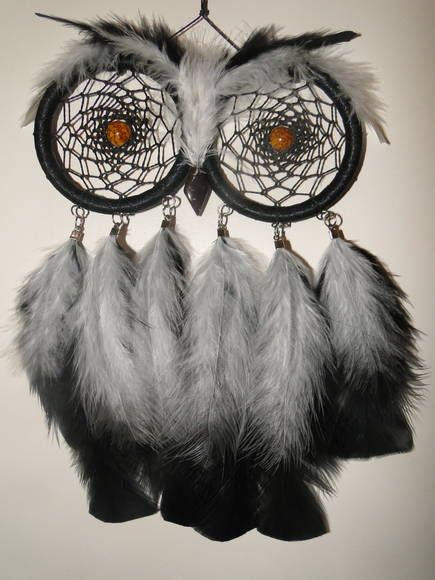 filtro-dos-sonhos-coruja-branca-e-preta-coruja.jpg (435×580)