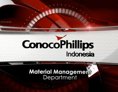"Check out new work on my @Behance portfolio: ""Conoco Phillips Indonesia Opener"" http://on.be.net/122932e"