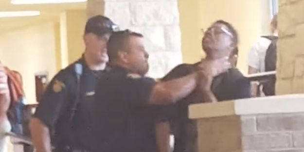 Video Shows Texas Police Officer Grab Student By The Throat - BuzzFeed News
