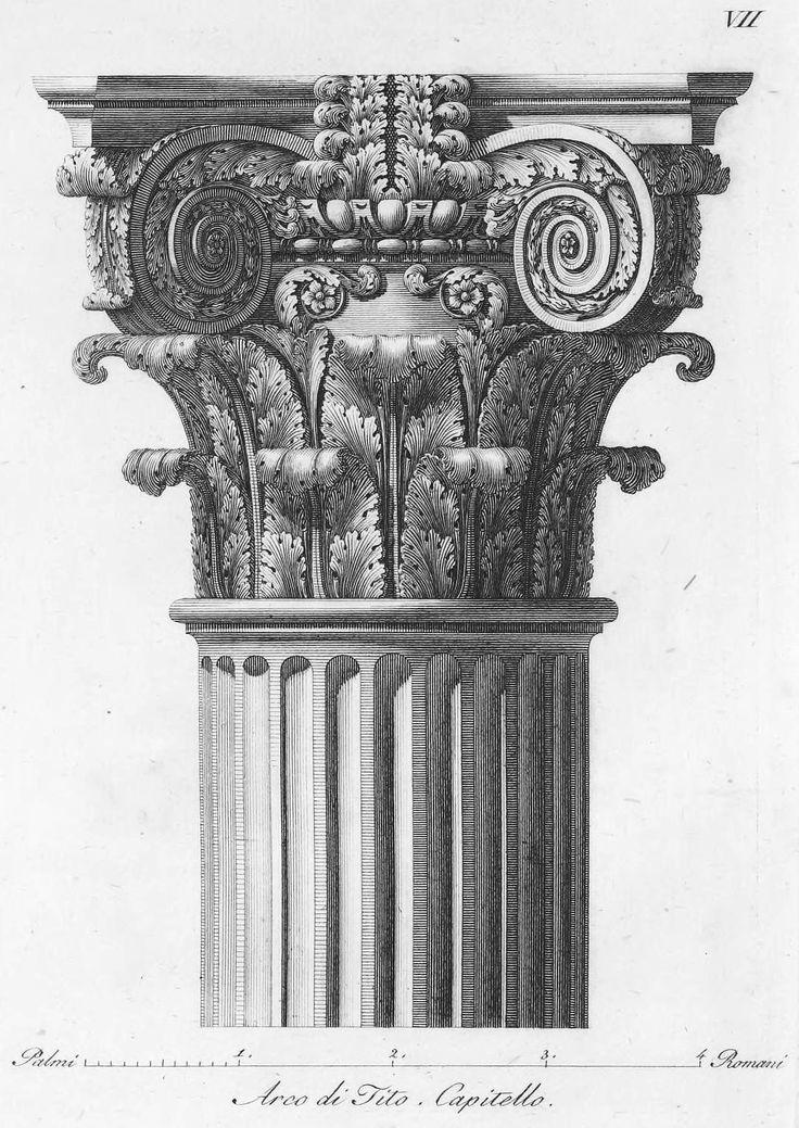 capitello Arco di Tito*silva*